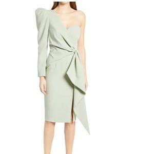 LAVISH ALICE Asymmetical One-Shoulder Dress